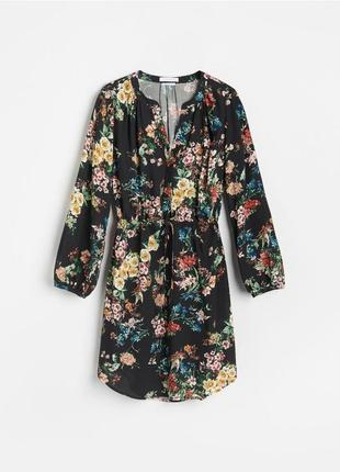 Платье в цветочный принт от reserved