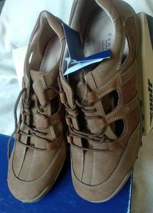Кожаные мужские туфли lambertazzi