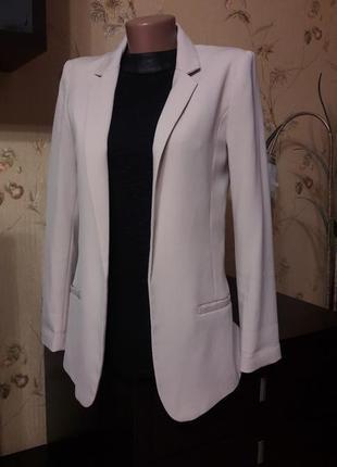 Стильный пудровый пиджак3 фото