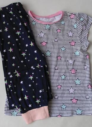 Пижама 7-8 лет 128 см primark-george