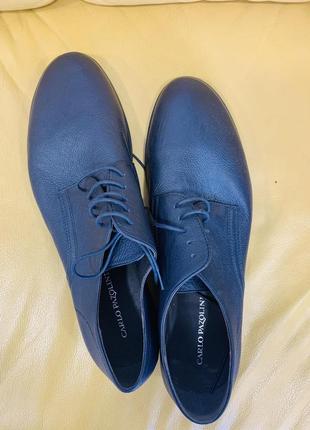 Кожанные туфли carlo pazolini