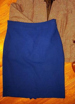 Осенняя юбка-карандаш :)