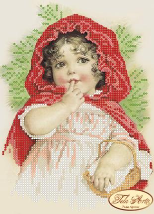 Схема для вышивки бисером красная шапочка