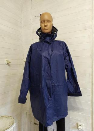 Классный дождевик,с кармашками,капюшоном l-3xl