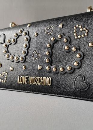 Love moschino стильная сумка