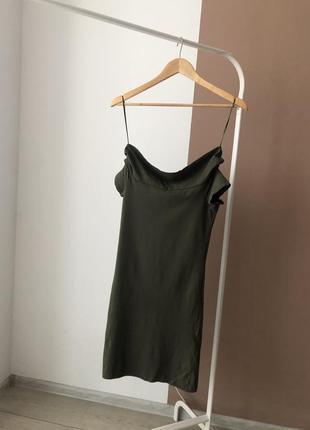 Облегающие платье