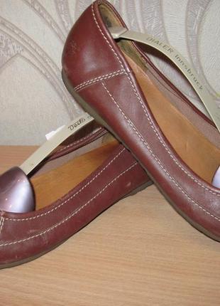 Продам кожаные балетки фирмы timberland 40 размера.производитель (сша)