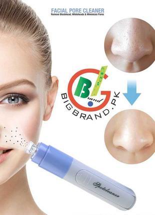 Вакуумний очищувач обличчя spot cleaner, pore cleaner прилад для чищення пір обличчя!