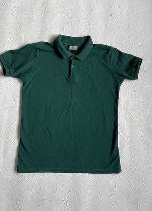 Зелёная футболка поло lc waikiki