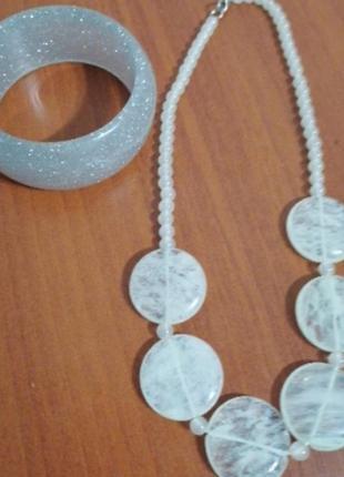 Женские украшения аксессуары браслет бусы ожерелье