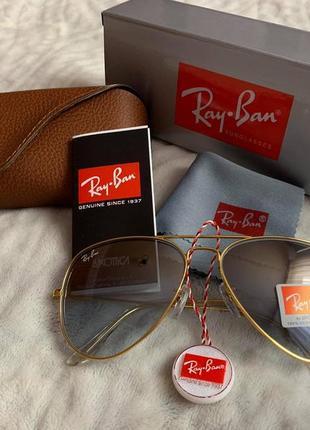 Солнцезащитные очки ray ban original 3026-16