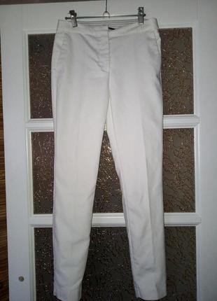 Zara ,белые брюки ,штаны s