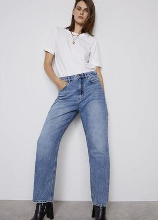 The relaxed straight zara  р.36