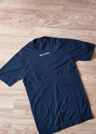 Очень крутая термо футболка с коротким рукавом от швейцарского бренда x-bioniс