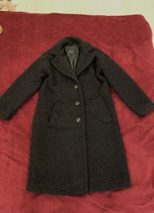 Пальто amisu под каракуль