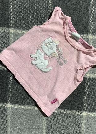 Детская футболочка disney 3-6 месяцев
