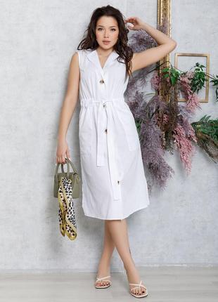 Платье льняное
