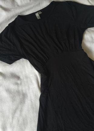Чёрное мини платье asos