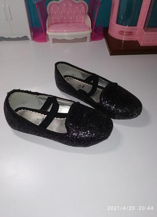 Туфли в паэтках