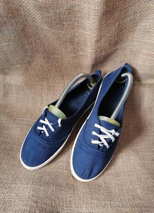 Мокасины,кеды на шнурках h&m* 25-25,5