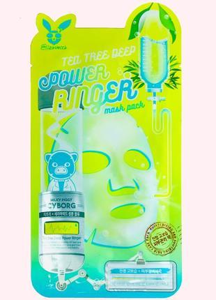 Маска для проблемной кожи elizavecca face care tea