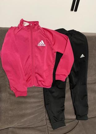 Спортивний костюм для дівчинки adidas original,7-8 років,128 см!!!