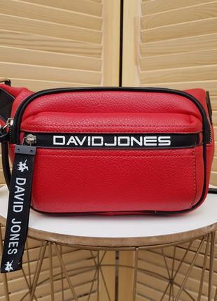 Яркая стильная спортивная бананка сумка кроссбоди david jones