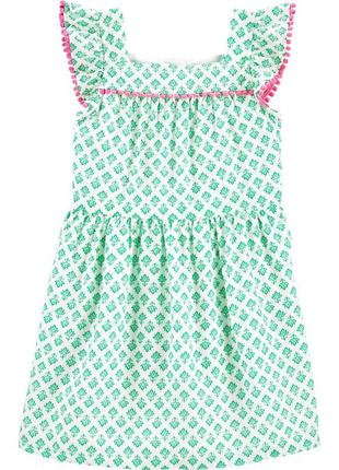 Платье carter's для девочки на лето сарафан картерс