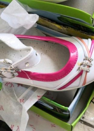 Туфли подростковые, балетки для девочек