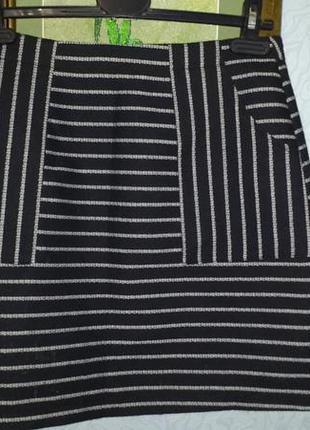 Теплая юбочка new look полиэстер-коттон- вискоза