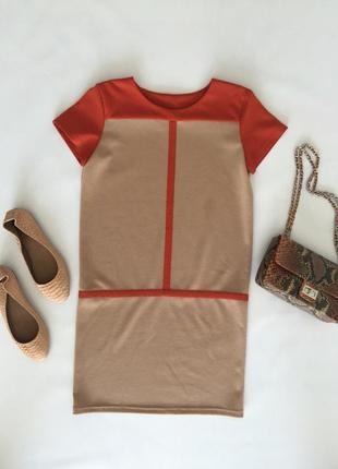 Платье бежевое tago арт 419