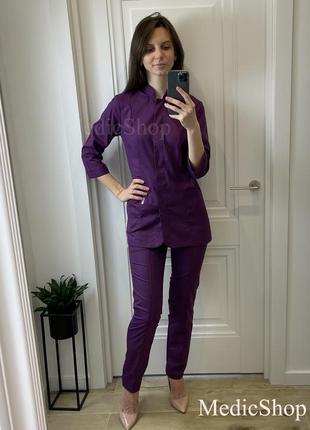 Медицинский костюм, медицинский модный костюм, медицинская форма, медичний одяг