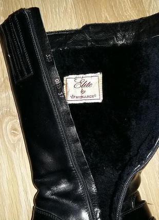 a538fdc7c ... Зимние кожанные брендовые сапоги, водоотталкивающие сапожки, кожа, 37.  германия монарх5