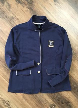 Lux брендовый мужской пиджак жакет кэжуал tommy hilfiger оригинал