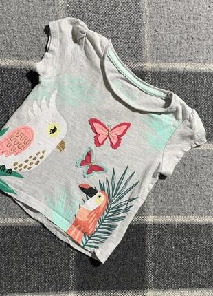 Детская футболочка primark 9-12 месяцев