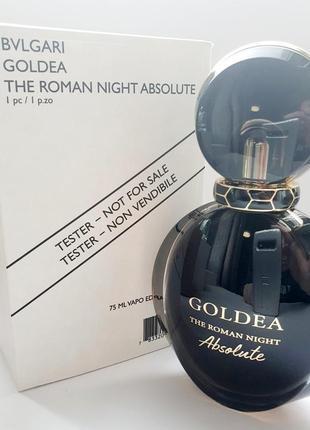 Bvlgari goldea the roman night absolute парфюмированная вода