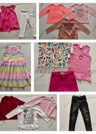 Пакет вещей на девочку 3-5 лет