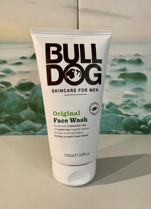 Bulldog, англия, мужской гель для умывания, 150 мл