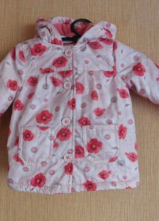 Куртка ветровка демисезонная baby f&f на 3-6 мес рост 68 см