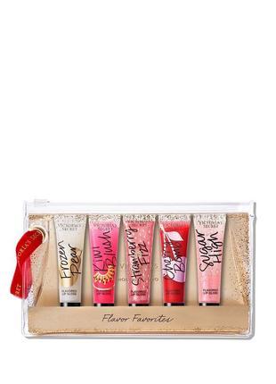Подарочный набор блесков для губ шиммер victoria's victorias victoria secret