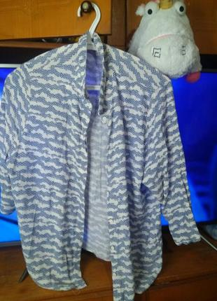 Рубашка принт