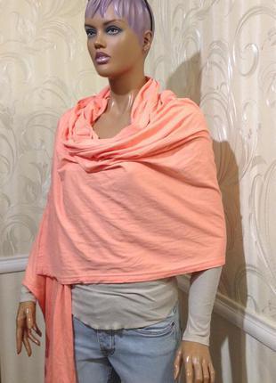 Шикарный палантин/объемный шарф, pieces accessories