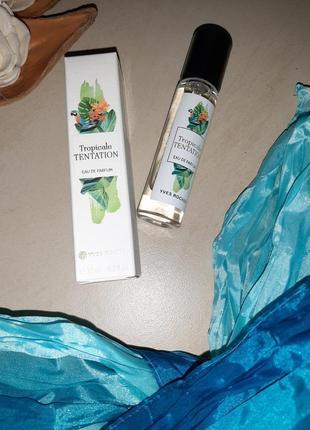 Парфюмированная вода tropicale tentation ив роше, 10мл