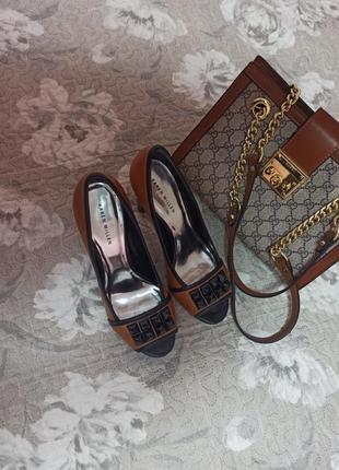 Туфли karen millen натуральная кожа, идут на 39 размер