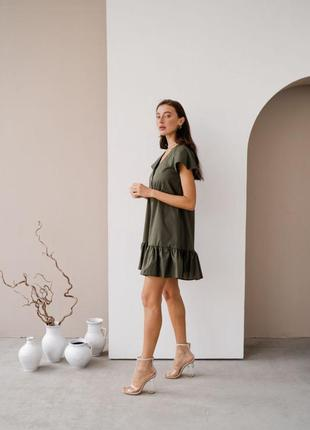 Платье на пуговицах2 фото