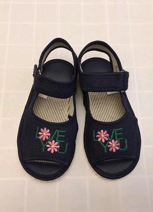 Новинка!!! джинсовые сандалии тапочки босоножки открытые 1
