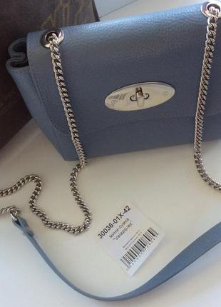 Vif сумочка на цепочке. натуральная кожа