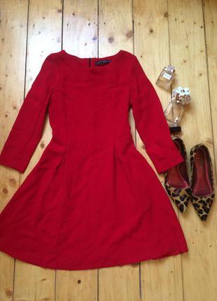 Новое шерстяное платье плотное і теплое