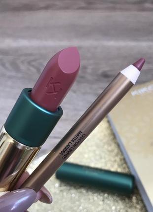 Набір для губ classic beauty 01 kiko milano