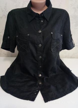 Модная и стильная лен рубашка bonita